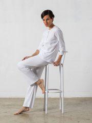 Pijama Largo Mujer – Oncohelp
