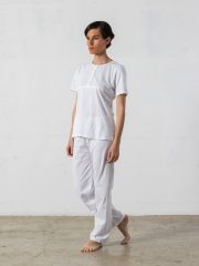Pijama largo de 2 piezas – Oncohelp