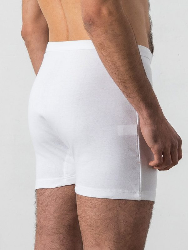 Classic white boxer-shorts - Oncohelp