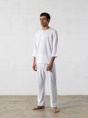 Oncohelp – pijama largo manga 3/4 cuello redondo
